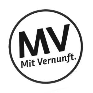 Logo: MV - Mit Vernunft